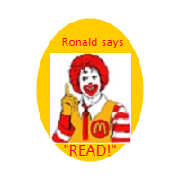 Ronald Rules Badge
