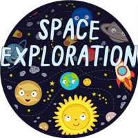 Space Exploration Badge